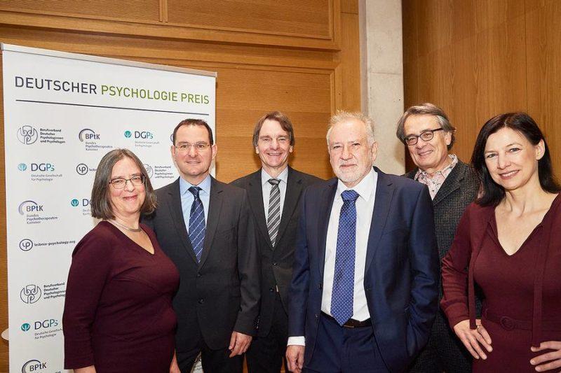 Preisverleihung Deutscher Psychologie Preis 2019
